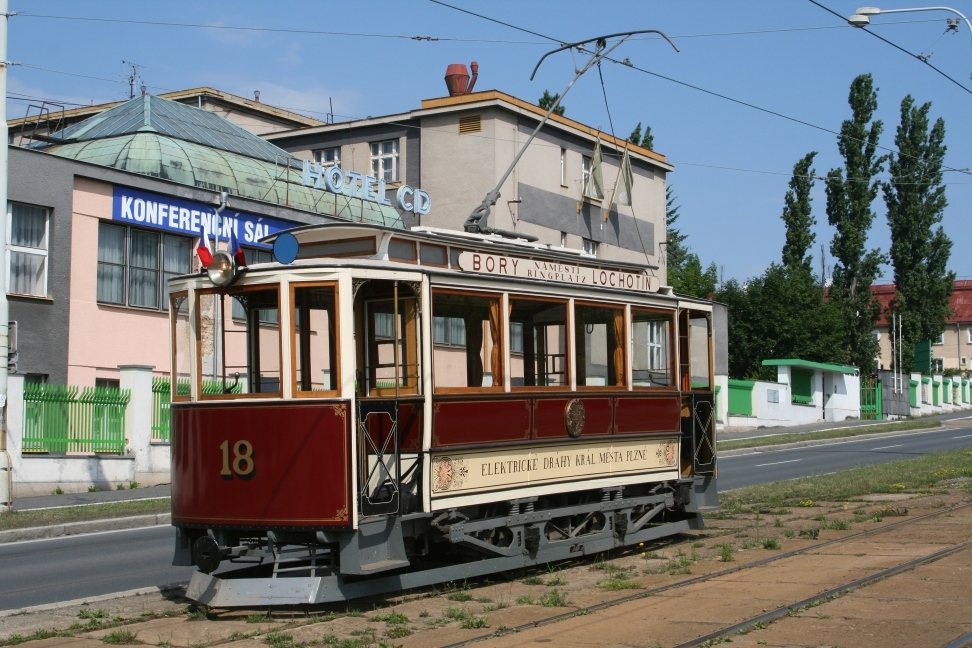 Křižík & Brožík Tram No. 18 from 1899