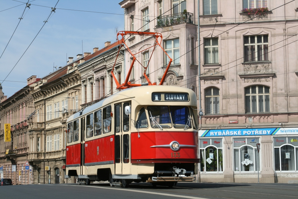 ČKD T2 Tram No. 133 from 1958