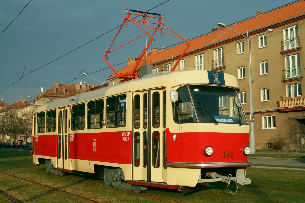 ČKD T3 Tram No. 192 from 1975